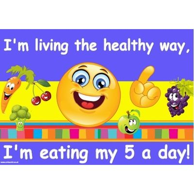 Healthy Eating Educational Poster Pack Sports Supports Mobility